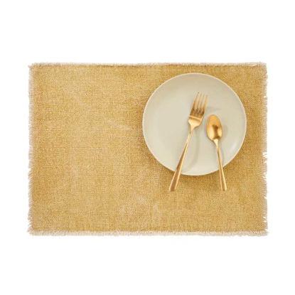 Изображение Подставка под тарелки RAW CANVAS Желтый 48x33 см. L:48 см. 10221924