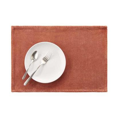 Изображение Подставка под тарелки SUNSET Красный 48x33 см. L:48 см. 10221929