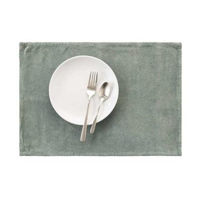 Изображение Подставка под тарелки SUNSET Зеленый 48x33 см. L:48 см. 10221930