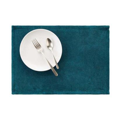 Изображение Подставка под тарелки SUNSET Голубой 48x33 см. L:48 см. 10221931