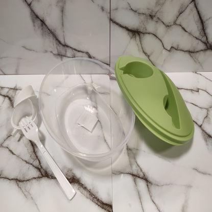 Изображение Контейнер для продуктов LUNCHTIME Зеленый H:20 см. L:17 см. 10221969