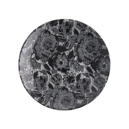 Изображение Тарелка BLOSSOM Черный O:27 см. 10222001