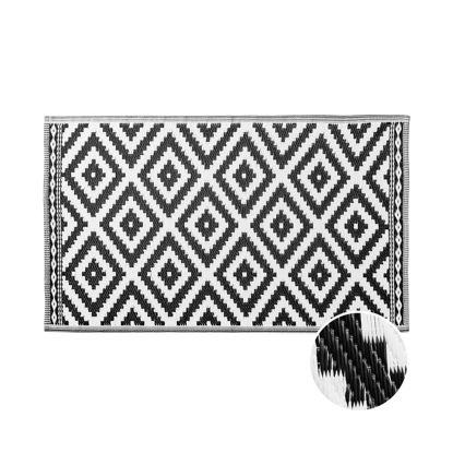 Зображення Килим для підлоги COLOUR CLASH Чорний в поєднанні 90х150 см. H:90 см. L:150 см. 10222156