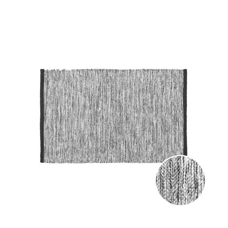 Зображення Килим для підлоги COTTON WAY Чорний 90x60 см. L:90 см. 10222265