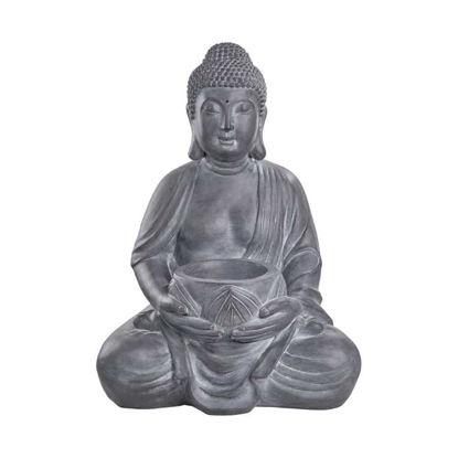 Изображение Фигура будды BUDDHA Серый 48x32 см. H:68 см. L:48 см. 10222270