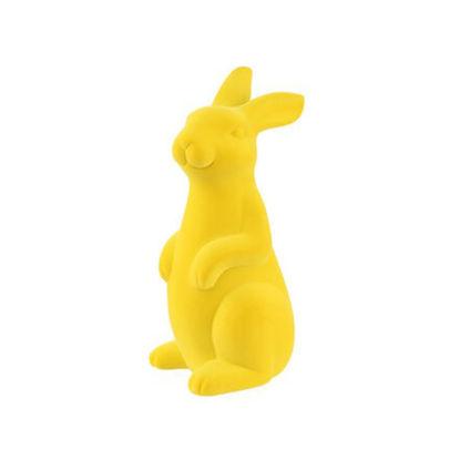 Изображение Декорации в виде кролика EASTER Желтый H:28 см. 10222342