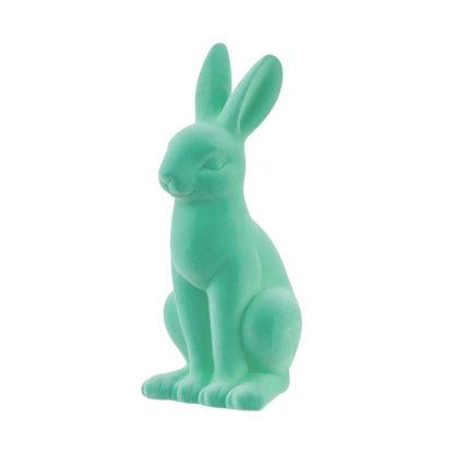 Изображение Декорации в виде кролика EASTER Зеленый H:40 см. 10222343