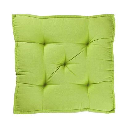 Изображение Подушка на стул SOLID Зеленый 40x40 см. H:7.5 см. L:40 см. 10222427