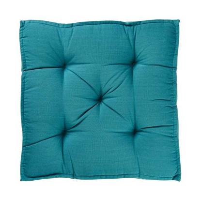 Изображение Подушка на стул SOLID Зеленый 40x40 см. H:7.5 см. L:40 см. 10222428