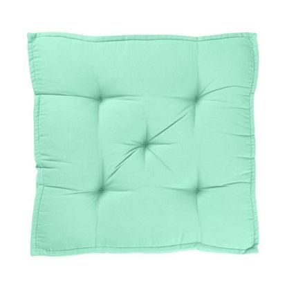 Изображение Подушка на стул SOLID Зеленый 40x40 см. H:7.5 см. L:40 см. 10222431
