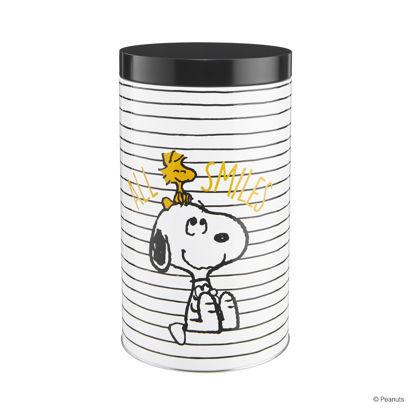 Изображение Емкость для хранения кофе PEANUTS Белый в сочетании O:10.8 см. H:19.3 см. 10222522