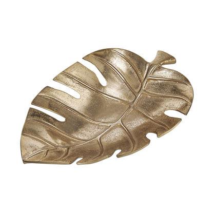 Зображення Миска декоративна GOLDEN NATURE Золотий 30х20х7 см. H:20 см. L:30 см. 10222569
