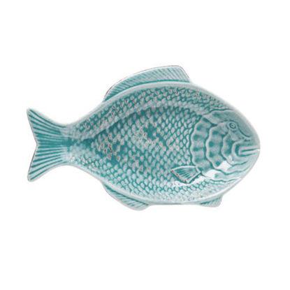 Зображення Миска декоративна PESCADO Синій 23.8х15х3.3 см. H:15 см. L:23.8 см. 10222593