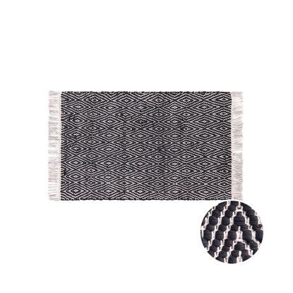 Зображення Килим для підлоги ETHNO LODGE Чорний в поєднанні 60х90 см. H:60 см. L:90 см. 10222784