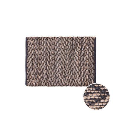 Зображення Килим для підлоги ETHNO LODGE Чорний в поєднанні 60х90 см. H:60 см. L:90 см. 10222787