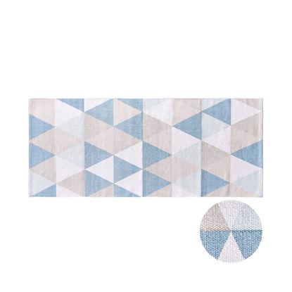 Зображення Килимок текстильний SILENT DANCER Синій в поєднанні 70х170 см. H:70 см. L:170 см. 10222789