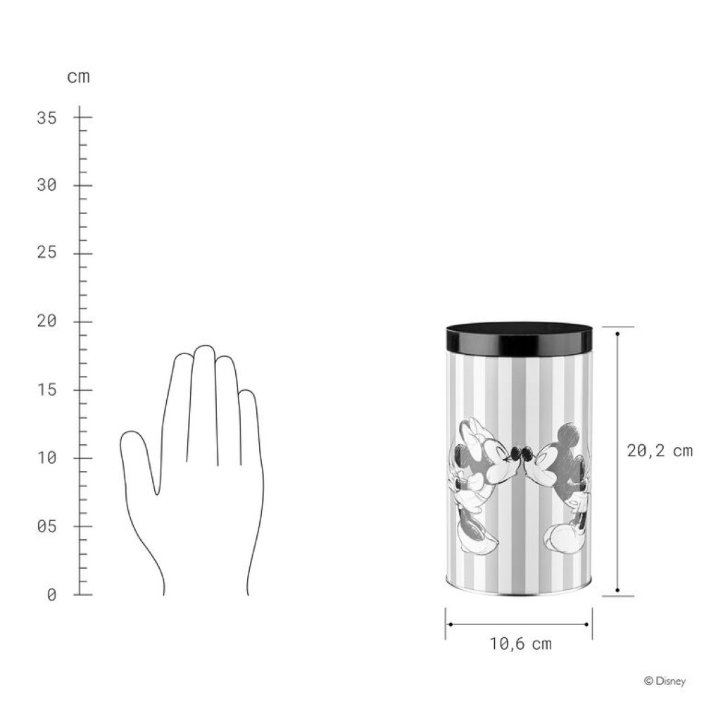 Изображение Банка для кофе COOKIE Серый O:10.6 см. H:20.2 см. 10222959