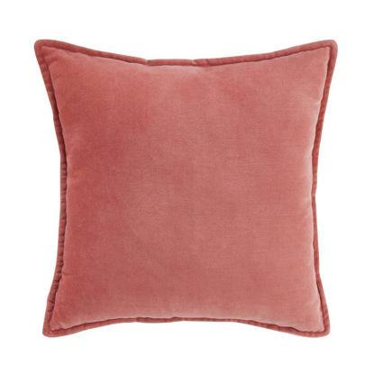 Зображення Подушка COTTON VELVET Рожевий 45х45 см. H:45 см. L:45 см. 10223034