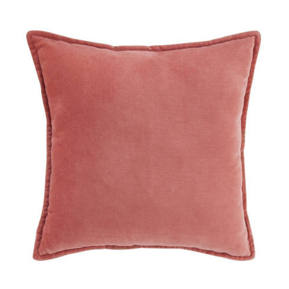 Изображение Подушка COTTON VELVET Розовый 45х45 см. H:45 см. L:45 см. 10223034