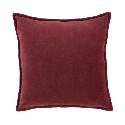 Изображение Подушка COTTON VELVET Красный 45х45 см. H:45 см. L:45 см. 10223035