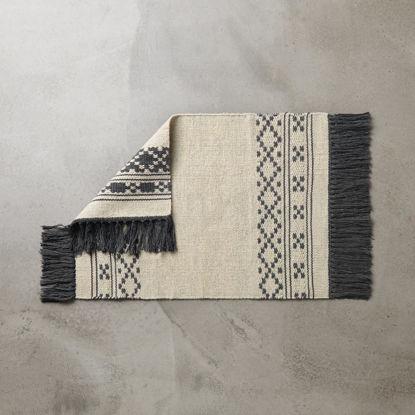 Зображення Килим для підлоги GOOD LOOM Бежевий в поєднанні 60х90 см. H:60 см. L:90 см. 10223100