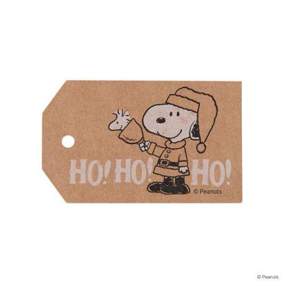 Зображення Подарункові бірки PEANUTS Коричневий 9.5х5.6 см. H:5.6 см. L:9.5 см. 10223182
