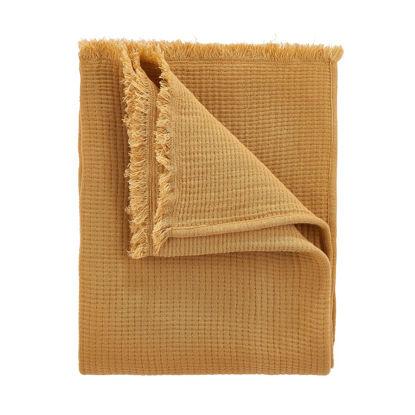 Зображення Пледи COCOON Жовтий 130х170 см. H:130 см. L:170 см. 10223258