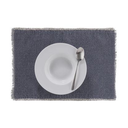 Изображение Подставка под тарелки RAW CANVAS Синий 33х48 см. H:33 см. L:48 см. 10223279