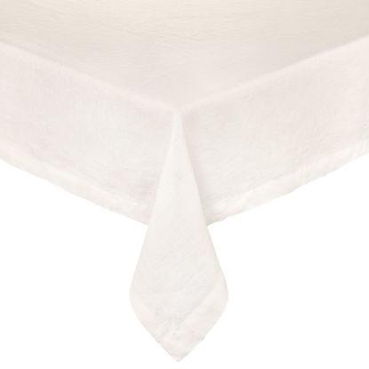 Зображення Скатертина RIGA Білий 160x160 см. O:160 см. H:160 см. 10223302