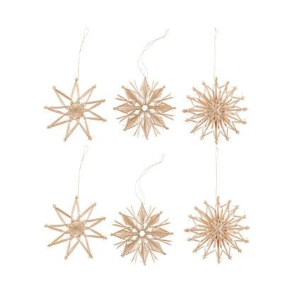 Зображення Підвіска новорічна X-MAS Золотий O:10 см. 10223331