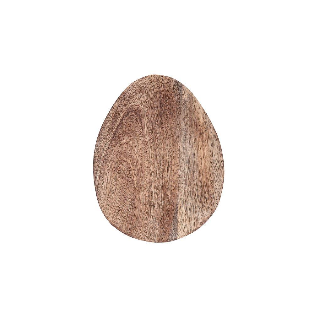 Изображение Блюдо декоративное MANGO DAYS Коричневый 26х20х2 см. H:2 см. L:26 см. 10223347