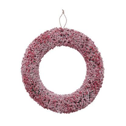Зображення Вінок декоративний FLORISTA Червоний O:32 см. 10223365