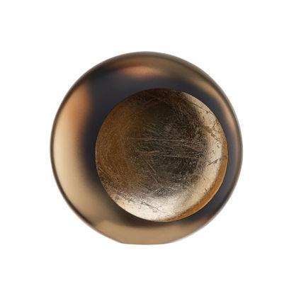 Зображення Підсвічник MOON Золотий 20х10х20 см. H:20 см. L:20 см. 10223401