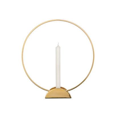 Зображення Підсвічник LUNA Золотий O:31 см. 10223432