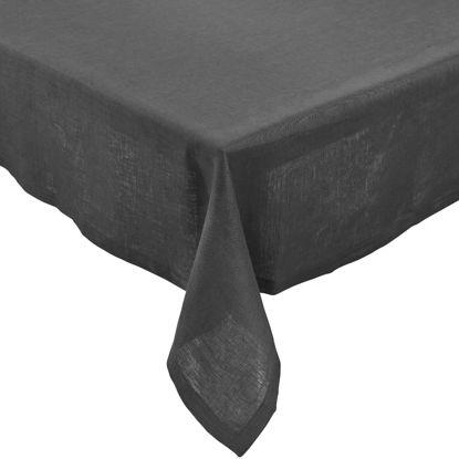 Зображення Скатертина PLAIN  NOBLE Сірий 150х250 см. H:150 см. L:250 см. 10223507