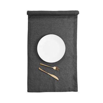 Зображення Підставка під тарілки PLAIN  NOBLE Сірий 50х150 см. H:50 см. L:150 см. 10223509