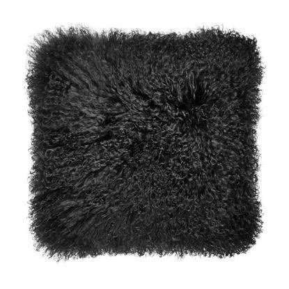 Изображение Подушка TASHI Черный 40х40 см. H:40 см. L:40 см. 10223554