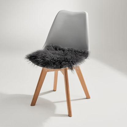 Изображение Подушка на стул TASHI Черный 35х35 см. H:35 см. L:35 см. 10223558