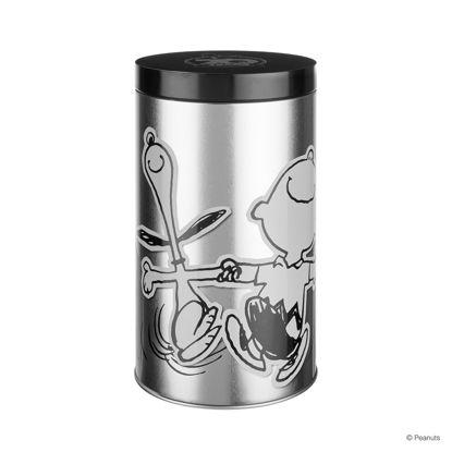 Зображення Ємність для зберігання кави PEANUTS Срібний O:10.6 см. H:20.2 см. 10223598