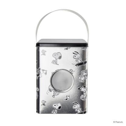 Зображення Контейнер для зберігання прального порошку PEANUTS Срібний 15х15х20.8 см. H:20.8 см. L:15 см. 10223600