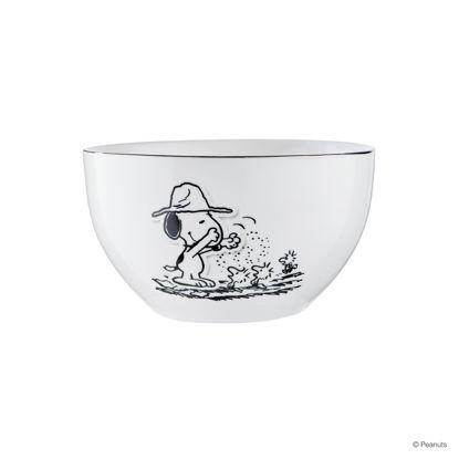 Зображення Миска PEANUTS Білий в поєднанні O:14 см. 10223605