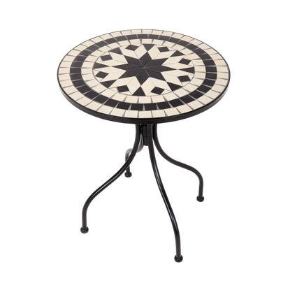 Изображение Стол садовый PALAZZO Черный в сочетании O:55 см. H:71 см. 10223841