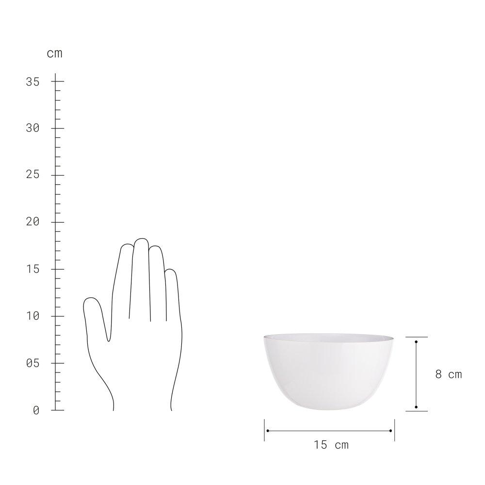 Зображення Миска NATIVE Білий V:600 мл. 10223862