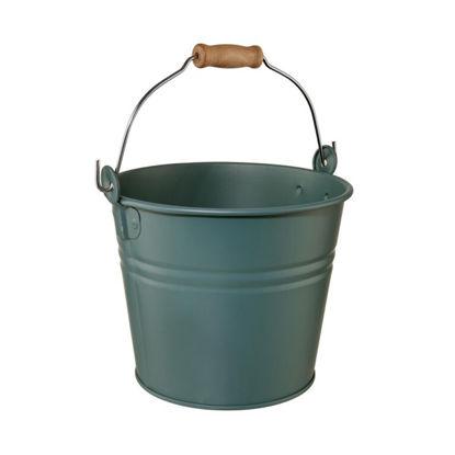 Зображення Відро садове ZINC Зелений O:16 см. V:2000 мл. 10223874
