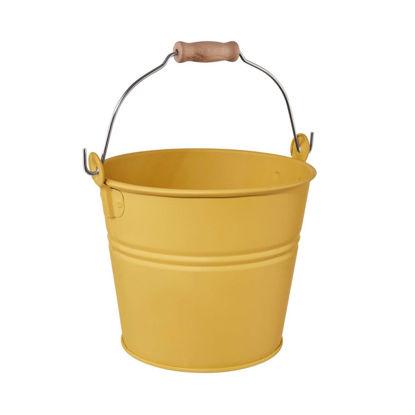 Зображення Відро садове ZINC Жовтий O:16 см. V:2000 мл. 10223877