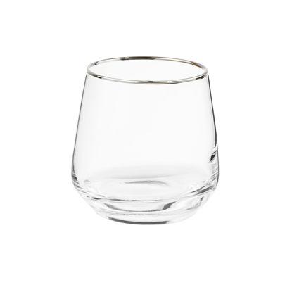 Зображення Склянка TOUCH OF SILVER Прозорий V:345 мл. 10223892