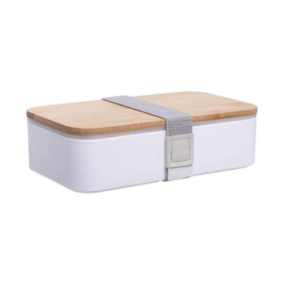Изображение Коробка для ланча SNACK PACK Белый 18.5х10.5х5.3 см. H:5.3 см. L:18.5 см. 10223948