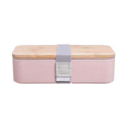 Изображение Коробка для ланча SNACK PACK Розовый 18.5х10.5х5.3 см. H:5.3 см. L:18.5 см. 10223949