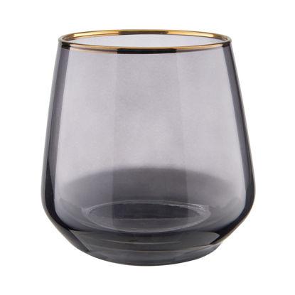 Зображення Склянка TOUCH OF GOLD Сірий V:345 мл. 10223952