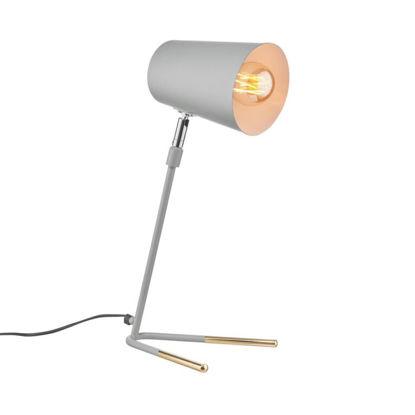 Зображення Лампа настільна LUXA Сірий O:12.5 см. H:47 см. 10224077